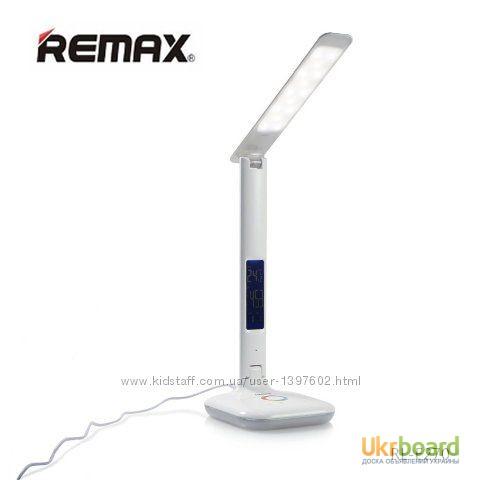 Фото 7. Настольная LED лампа Remax RL-E270 с термометром Лампа может похвастаться тремя режимами