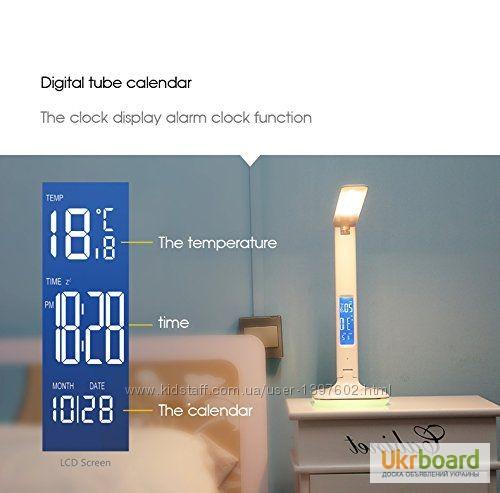 Фото 8. Настольная LED лампа Remax RL-E270 с термометром Лампа может похвастаться тремя режимами