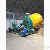Стационарный измельчитель соломы, производительностью 2500 кг. час