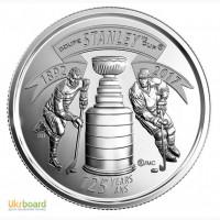 Канада-25 центов (2017) #039;125 лет кубку Стенли#039;