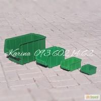 Ящики для метизов пластиковые цветные Арт. 703 пластиковая тара