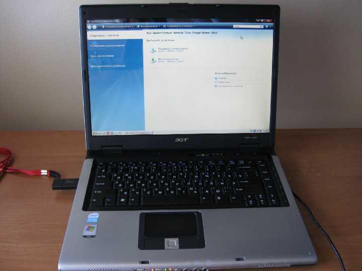 Простой для работы 2-х ядерный ноутбук Acer Aspire 5610z