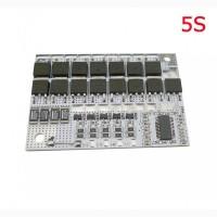 BMS 3S 4S 5S 100А 16V Контроллер заряда разряда защиты LiFePO4 аккумулятора c балансиром