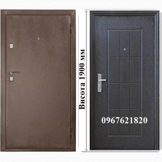 Металеві двері висотою 1900 та 2050 мм