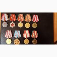 Продам полный комплект медалей За выслугу