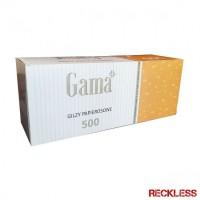 Гильзы для сигарет Gama (Розница) 500шт