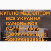 Куплю мёд В ДНЕПРОПЕТРОВСКОЙ и соседние обл. САМОВЫВОЗ своим транспортом