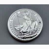 Продам серебряную монету:Британия 2 Фунта 2018 ...