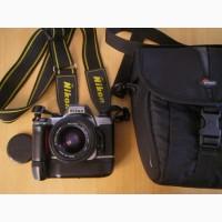 Пленочная, зеркальная, однообъективная б/у камера Nikon N65