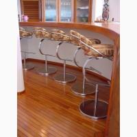 Барные стулья из нержавейки (нержавеющей стали)