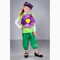 Карнавальный костюм Фиалка, возраст 2-6 лет