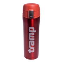 Термос - кружка Tr 0, 45 л красный металлик TRC-107-red