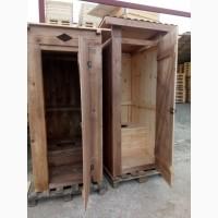 Туалет з дерева, туалети для дачі, еко туалети
