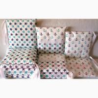 Комплект защитных бортиков в кроватку для новорожденных