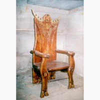 Продам меблі дерев#039;яні (стіл, крісла)набір вікінгів