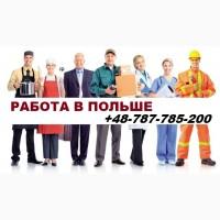 Легальное трудоустройство в Польше. ВАКАНСИИ 2019
