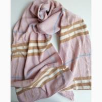 Эксклюзивный вязаный шарф ручной работы