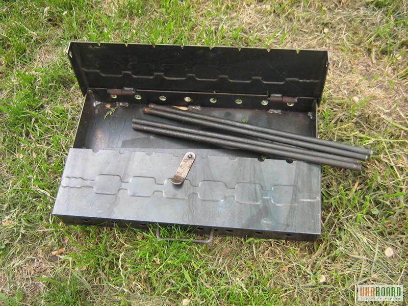 Раскладной мангал из металла
