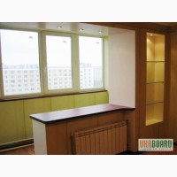 Остекление балконов киев, утепление балконов и лоджий, обшивка