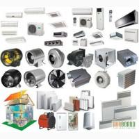 Вентиляционные системы, кондиционеры, отопление помещений