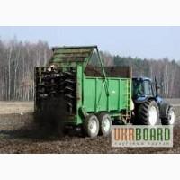 Розкидач органічних добрив SIPMA RO 1200 TORNADO 12 тонн