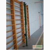Стойки волейбольные телескопические с устройством натяжения троса
