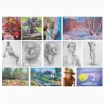 Уроки живописи и рисунка в изостудии для детей и взрослых