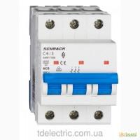 Авт. выключатель schrack 6А/С/3+блок контакт SE (1НО и 1КЗ); 10А/С/4; 4А/С/1; 6А/B/1.Австрия