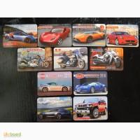 Коллеционные календарики.Транспорт.(11 шт) 2010г