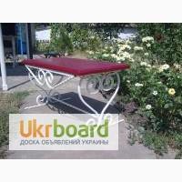 Заказать садовую кованую скамейку в Луцке