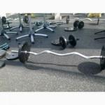 Резиновое покрытие Fitness для тренировочных залов