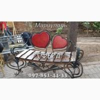 Кованые лавочки, скамейки для сада, кованые изделия от производителя под заказ, фото
