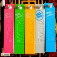 Мини Power Bank Milk - оригинальный с креативным дизайном пачки молока