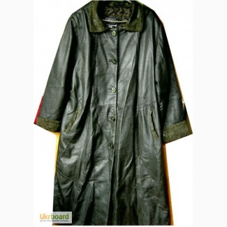 Плащ-пальто кожаноеDIKMEN