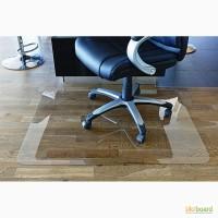 Защитные прозрачные коврики-подложки под стул для пола