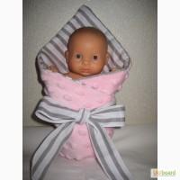Постель для куклы в кроватку