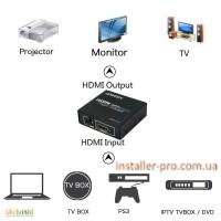 Сплиттер 1х2 версия 1.4 COW-LV1x2 HDMI 4Kx2K