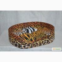 Лежак из бязи Леопард в наличии