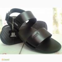 Мужские чёрные сандалии-босоножки Bertoni СКИДКА