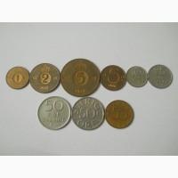 Монеты Швеции (9 штук)