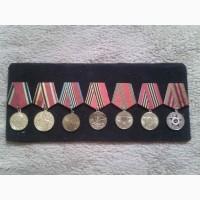 Продам полную коллекцию юбилейных медалей СССР