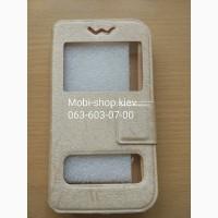 Универсальный чехол-книжка c двумя окошками на телефон 4, 8-5, 1 дюймов