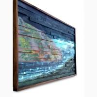 Деревянное панно на стену Мыс Горн
