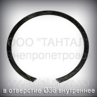 Кольцо 36 ГОСТ 13941-86 концентрическое упорное внутреннее