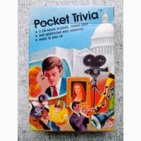 Винтажная настольная игра Pocket Trivia на английском языке