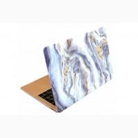 Чехол с рисунком под голубой мрамор MacBook Air/Pro 2020 13.3 Mramor