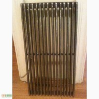 Чугунная гриль-решетка для барбекю и мангалов. 44.5 см. х 24 см