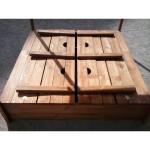 Детская песочница с крышкой, песочницы для детей, песочница из дерева, для дачи