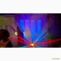 Музыка, свет, декорации, спецэффекты на свадьбу