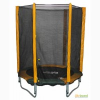 Батут для дома с защитной сеткой, 140 см